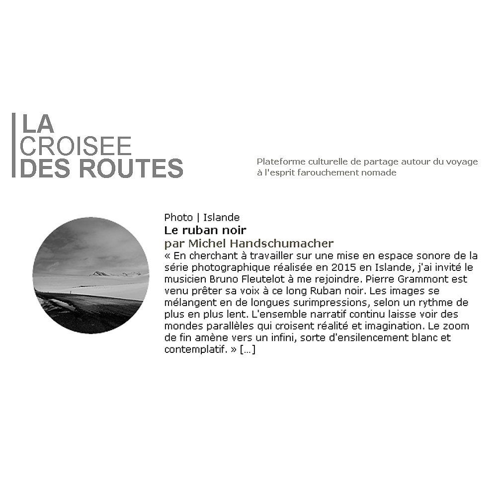 LA CROISEE DES ROUTES / Nov. 2015