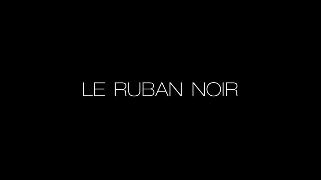 LE RUBAN NOIR