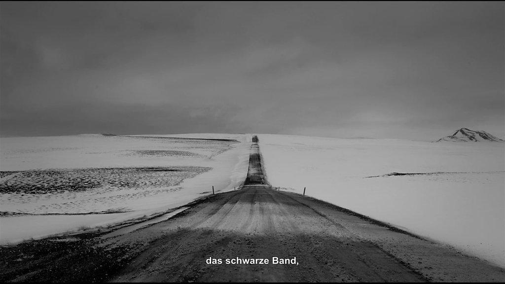 LE RUBAN NOIR / Das schwarze Band  - OV mit deutschen Untertitel