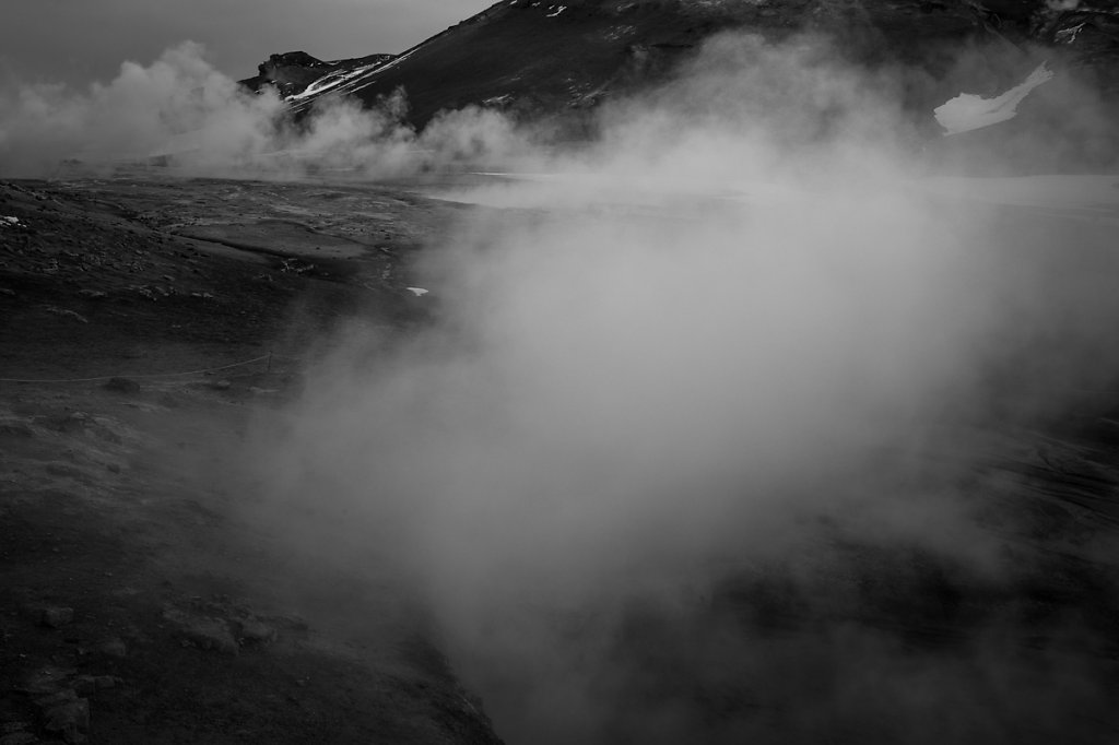 Islande / BW.XVIII