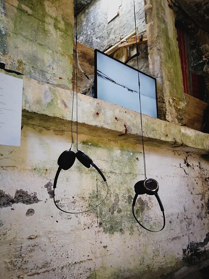 """The black ribbon"" n°6 - Artwork by Michel Handschumacher & Bruno Fleutelot , France"